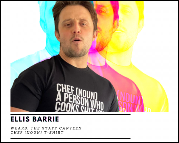 Ellis Barrie Chef [NOUN] T-shirt