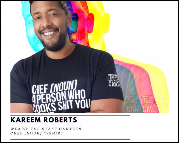Kareem Roberts Chef [NOUN] T-shirt