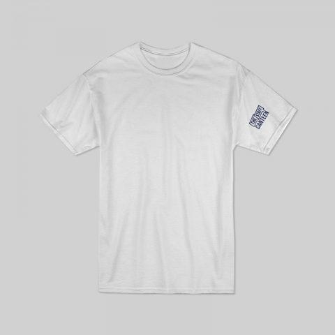 Plain White T-shirt with Logo