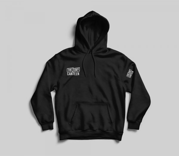 The Staff Canteen Black Hoodie