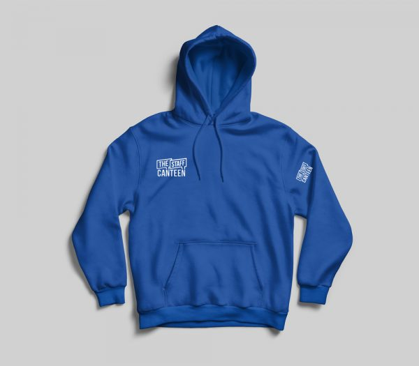 The Staff Canteen Blue Hoodie
