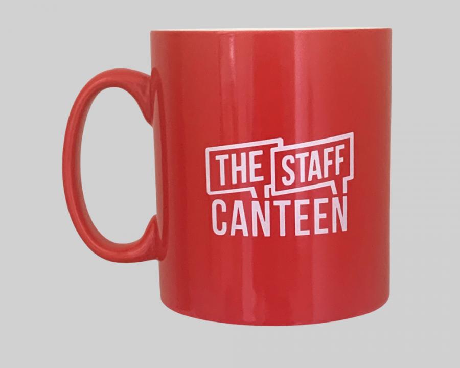The Staff Canteen Mug with Logo