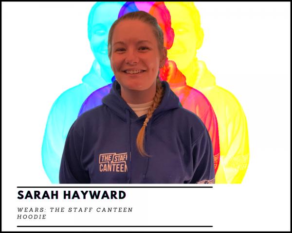 Sarah Hayward The Staff Canteen Hoodie