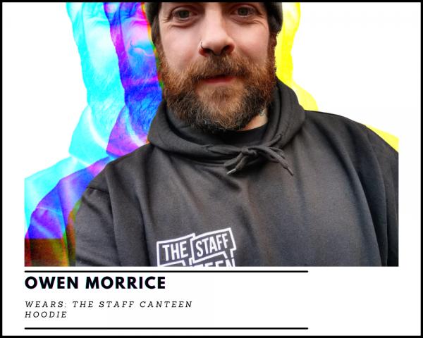 Owen Morrice The Staff Canteen Hoodie