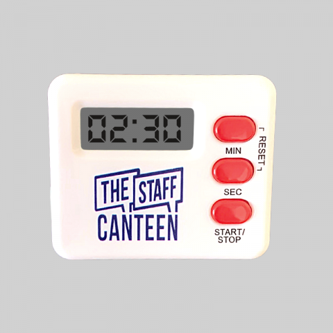 The Staff Canteen Kitchen Timer with Logo